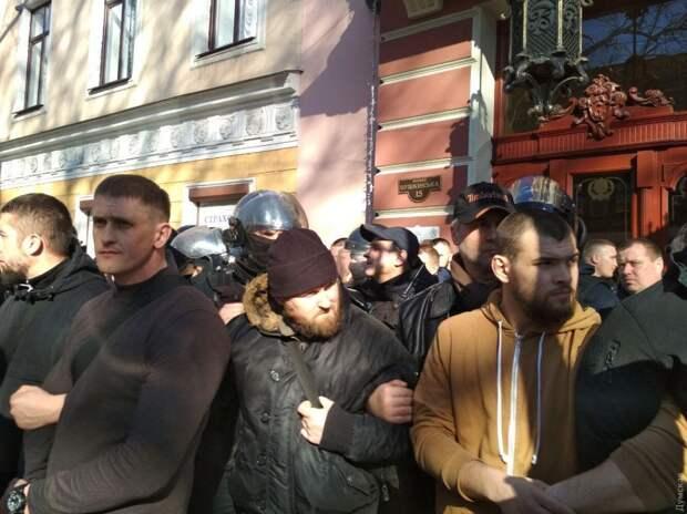 Националисты попытались сорвать съезд Оппоблока в Одессе