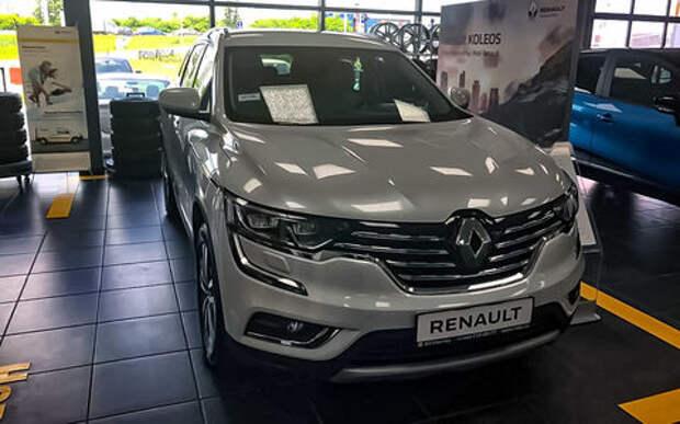 Новый Renault Koleos поступил в продажу