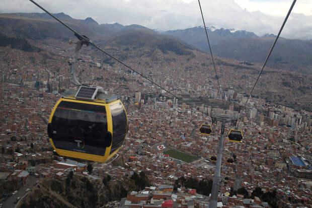 Ла-Пас: город канатных дорог