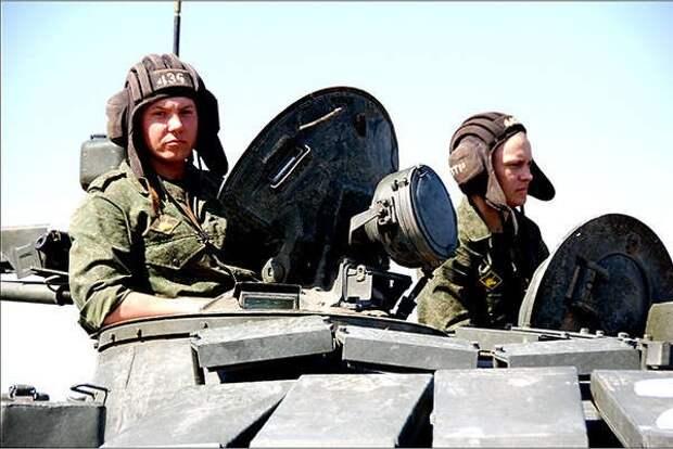Экипаж ЗВО стал победителем Всеармейских соревнований по танковому биатлону