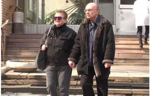Андрей Мягков и Анастасия Вознесенская: Cлужебный роман длиною в жизнь
