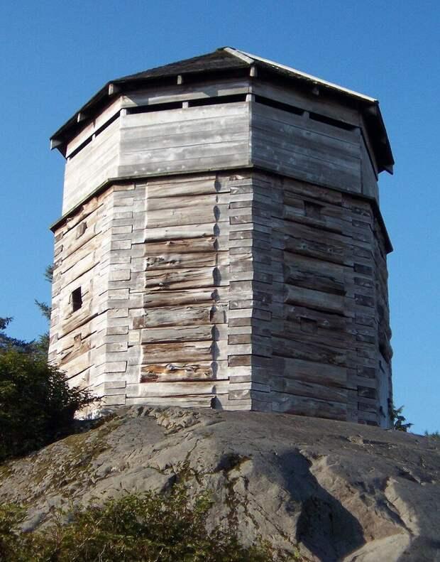 Нашли форт индейцев, взятый русскими в 1804 году
