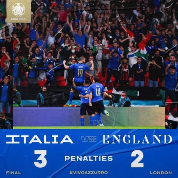 Viva l'Italia! Viva Squadra Azzurra!