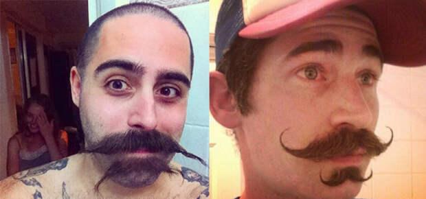 Мужчины во всем мире украсили лица двойными усами