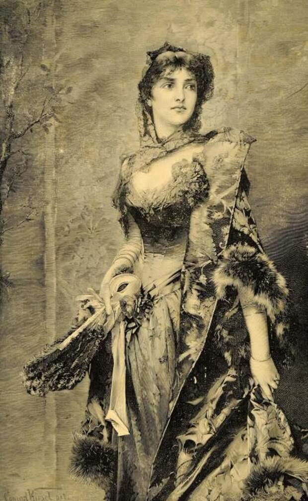 Немецкий художник Conrad Kiesel (1846-1921)