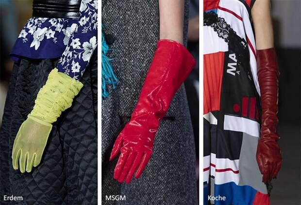 Модные аксессуары (украшения) осень-зима 2020-2021