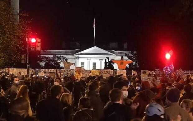 В США разворачивается наихудший поствыборный сценарий