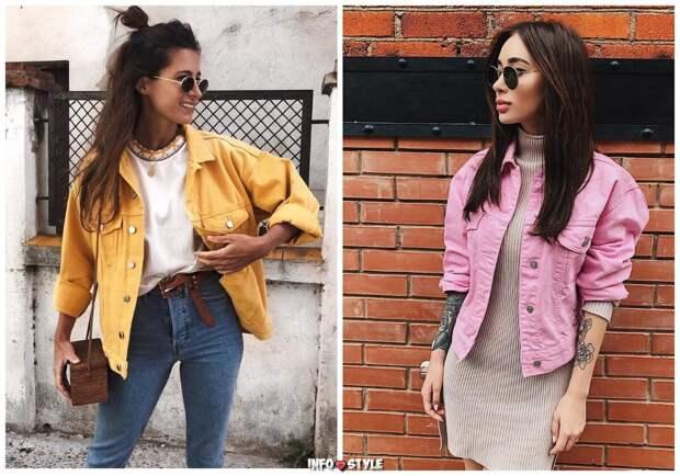 В каких джинсовых куртках будут ходить все модницы весной и летом
