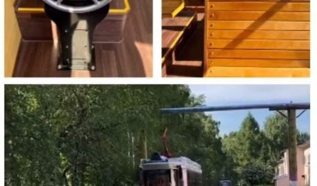 Ретро-трамвай вышел на«обкатку» вНижнем Новгороде