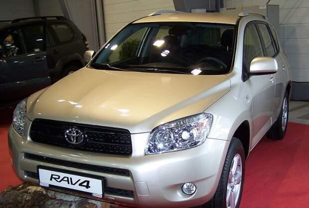 Автомобиль «Тойота» арестовали  в Ижевске из-за долгов владельца