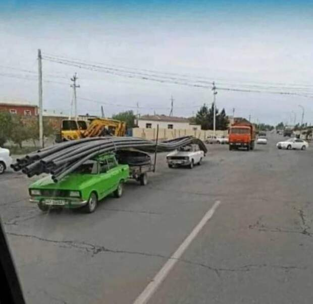 Транспортировка крупногабаритного груза