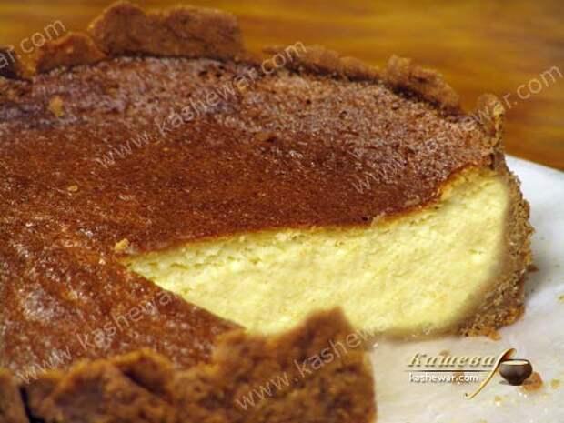 Лимонный пирог – рецепт с фото, американская кухня