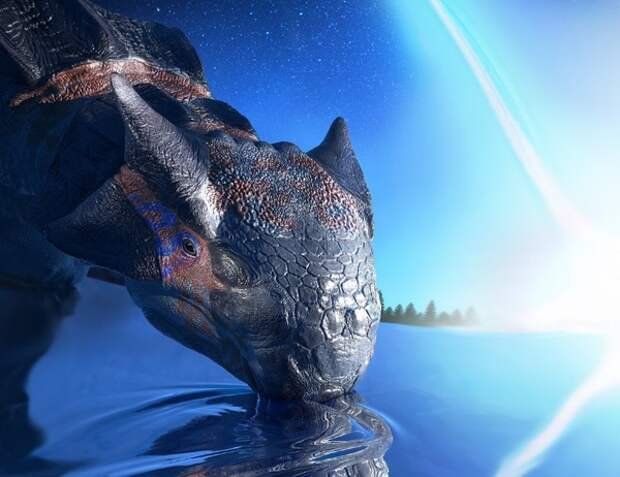 Ученые установили причину гибели жизни на планете 66 млн лет назад