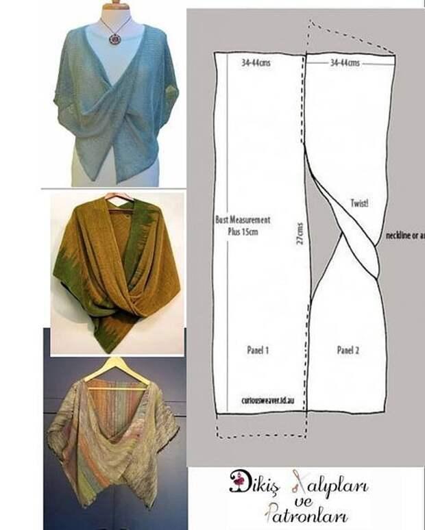 Такую простую, но эффектную вещицу можно создать своими руками в дополнение к летним нарядам.