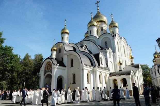 Храм блаженной Матроны Московской. Фото из архива