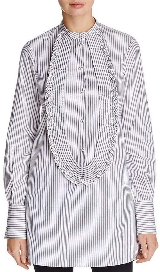 блузка в полоску как сшить своими руками