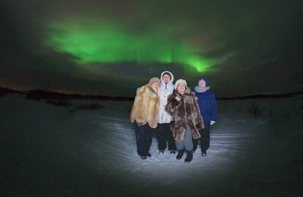 Где в России можно полюбоваться северным сиянием?