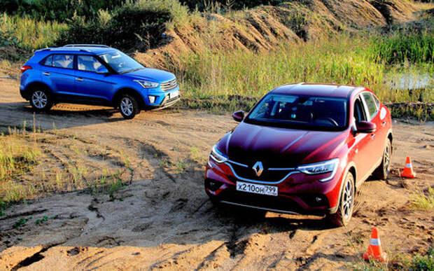 Блог Петра Меньших: Hyundai Creta против Renault Arkana