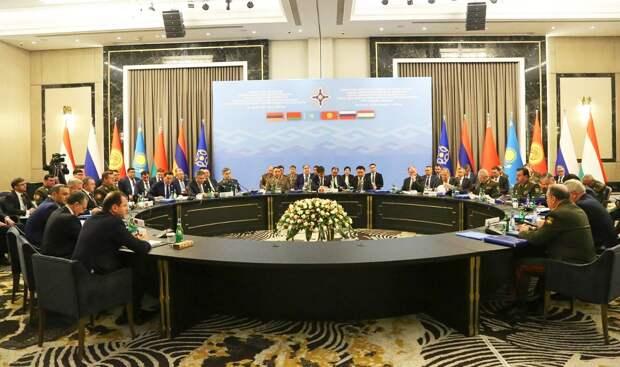 Сессия совета ОДКБ