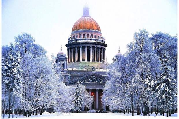 Сказочный зимний Петербург