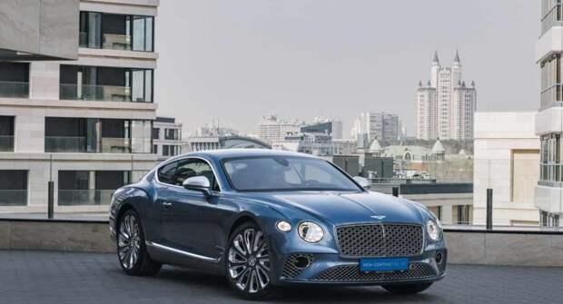 Фирма Bentley презентовала в РФ роскошный Continental GT Mulliner