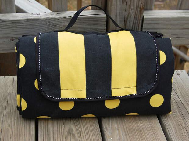 Изумительная сумка-подстилка: и на море, и в поход, и для пикника