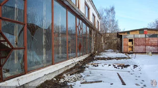 Заброшенный завод Центролит в Кашире