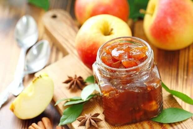 Яблочный джем на зиму — из бабушкиной книги рецептов