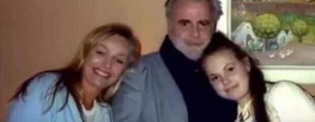 Наталья Андрейченко с бывшим мужем Максимилианом Шеллом и дочерью