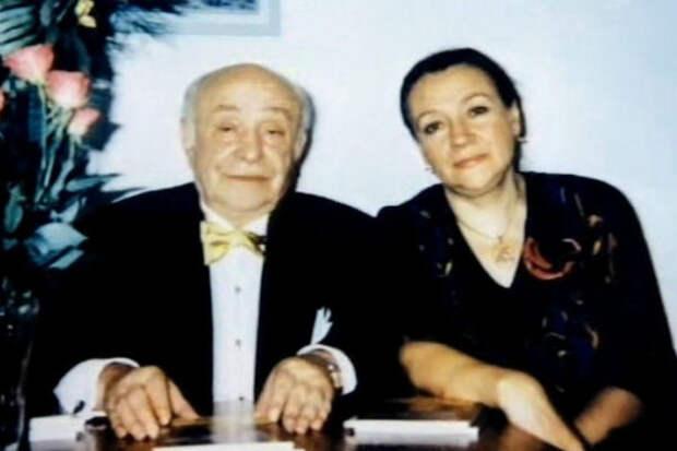 Ролан Быков и Елена Санаева: трудный путь к личному счастью