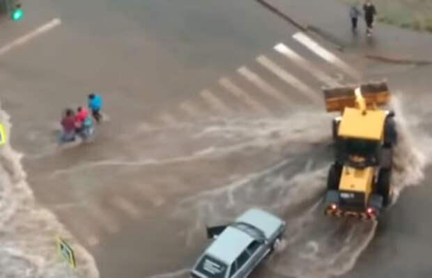 Случайные водители в Уфе предотвратили трагедию и спасли ребенка