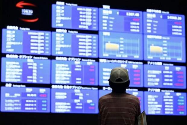С умеренного падения показателей начались биржевые торги в Токио