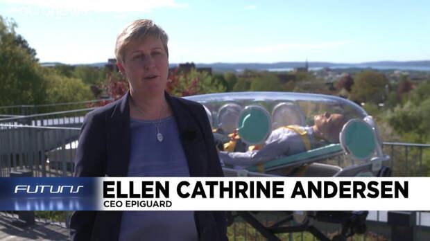 Euronews: прозрачная норвежская капсула защищает и врачей, и пациентов