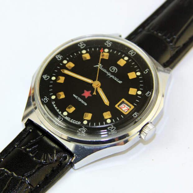 Часы, выпущенные по заказу Минобороны. | Фото: goldmoscow.net.