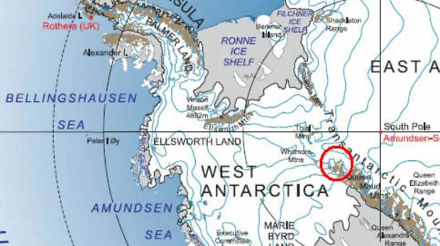 """Доктор Марли: """"В Антарктиде найдены останки крошечных людей возрастом 600 миллионов лет"""""""