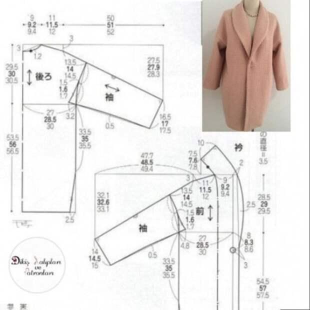 Простые выкройки пальто (много)