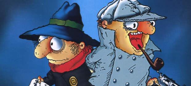 Мультфильм «Следствие ведут Колобки». «Холмс» и «Ватсон» ищут полосатого слона