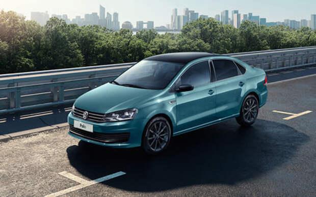 Volkswagen Polo получил в России новую спецверсию