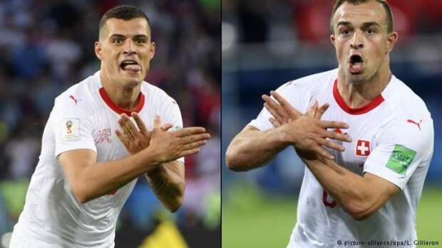 ФИФА расследует жесты футболистов Швейцарии ислова сербского тренера