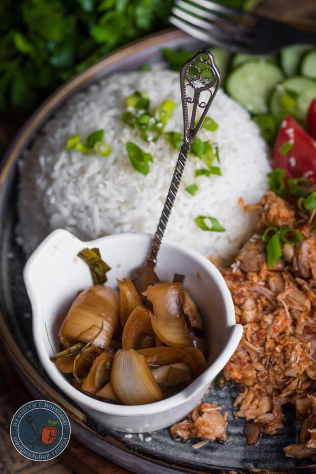 Рваная курица и ее друг томатный соус с чили Из Одессы с морковью, Кулинария, Еда, Рецепт, Фотография, Длиннопост, Курица