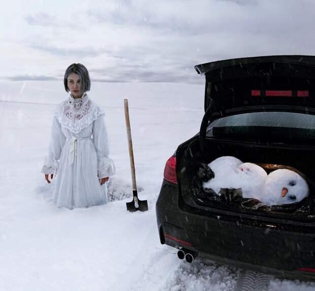 Девушка дня. 11 сказочных фото фрик-модели Елены Шейдлиной (Ellen Sheidlin), которые взрывают мозг
