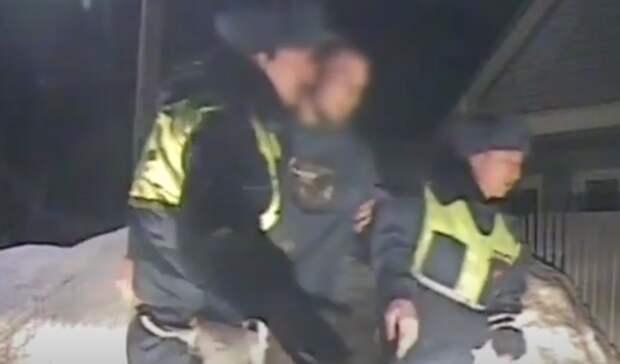 ВБузулуке пьяный водитель при задержании избил сотрудников ГИБДД