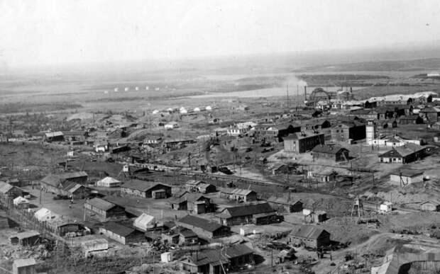 Норильск в 40-е годы.