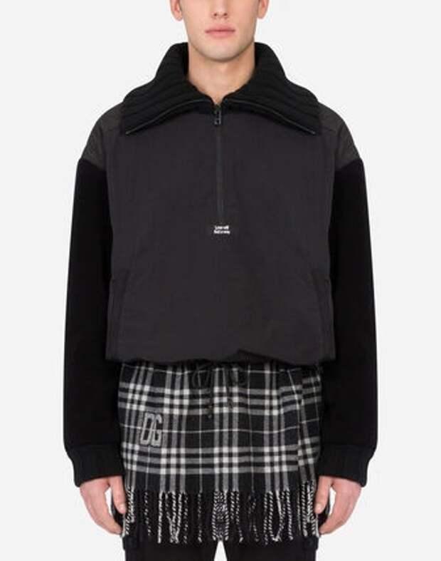 мужская кофта с шарфом Dolce&Gabbana