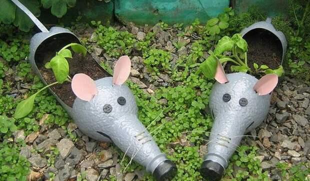 садовые фигурки-мыши