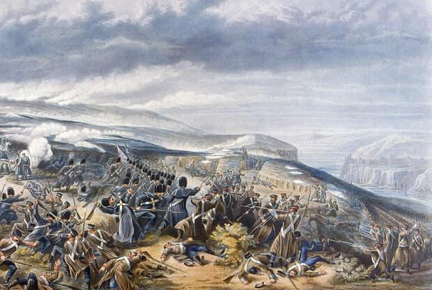Эхо Крымской войны над Севастополем