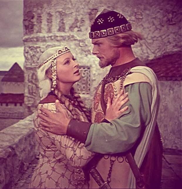 Самые красивые пары советского кино 50-ых