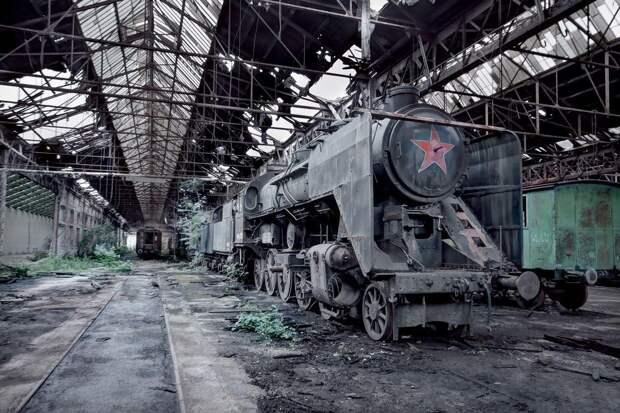 Венгрия, паровоз MAV 424.