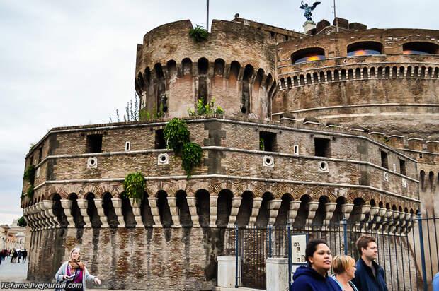 Один день в Риме. Замок Святого Ангела