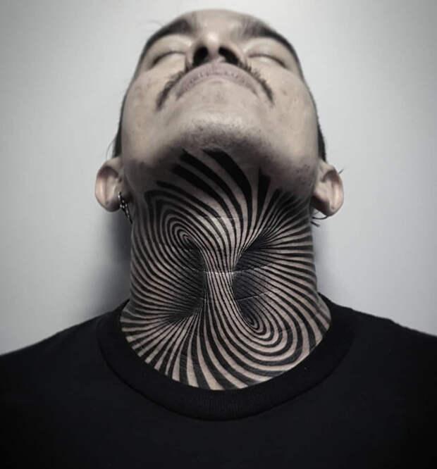 11 клевых и необычных идей для тату на шее